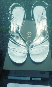 Gucci high heel shoes.